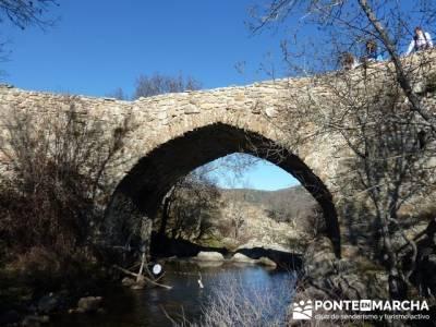 Puentes Medievales, Valle del Lozoya - Senderismo Madrid; senderismo en palencia